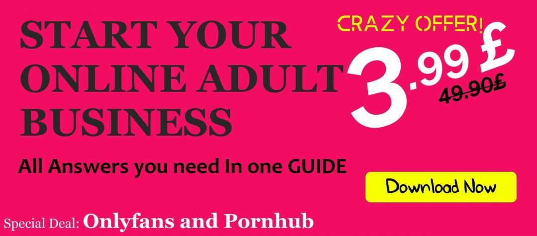 Start your online adult business